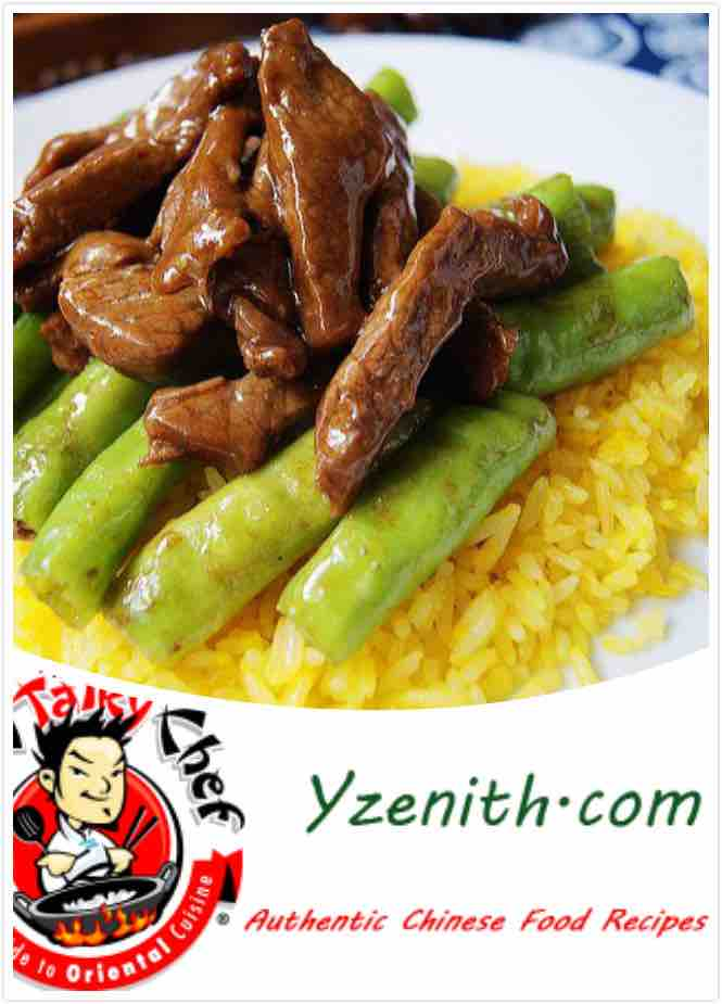 Yzenith Sauteed beef with green pepper image 1