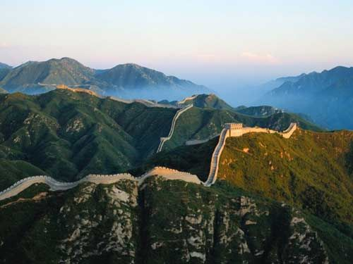 How long did it take to build Great Wall of China?