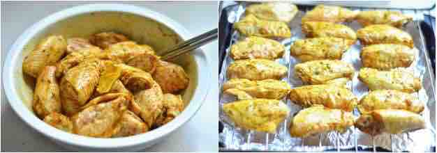 baked curry chicken wing 3