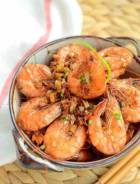 Pan fried shrimp chinese foods recipe com