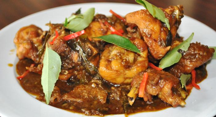 Kam Heong Chicken