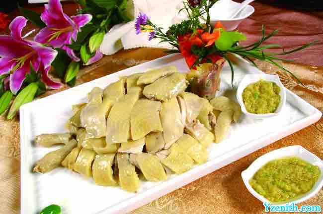 Health ways to cook chicken in Southern China Sliced cold chicken