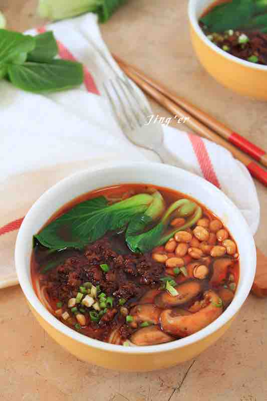 Spicy Noodle Soup Authentic Chinese Food Recipes Blog