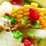yzenith chinese food recipes-corn and pork ribs soup