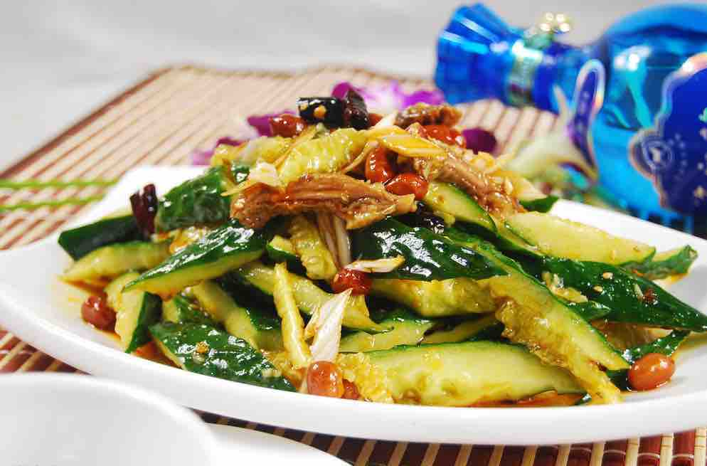 A Great Recipe To Relieve Summer Heat: Chinese Cucumber Salad